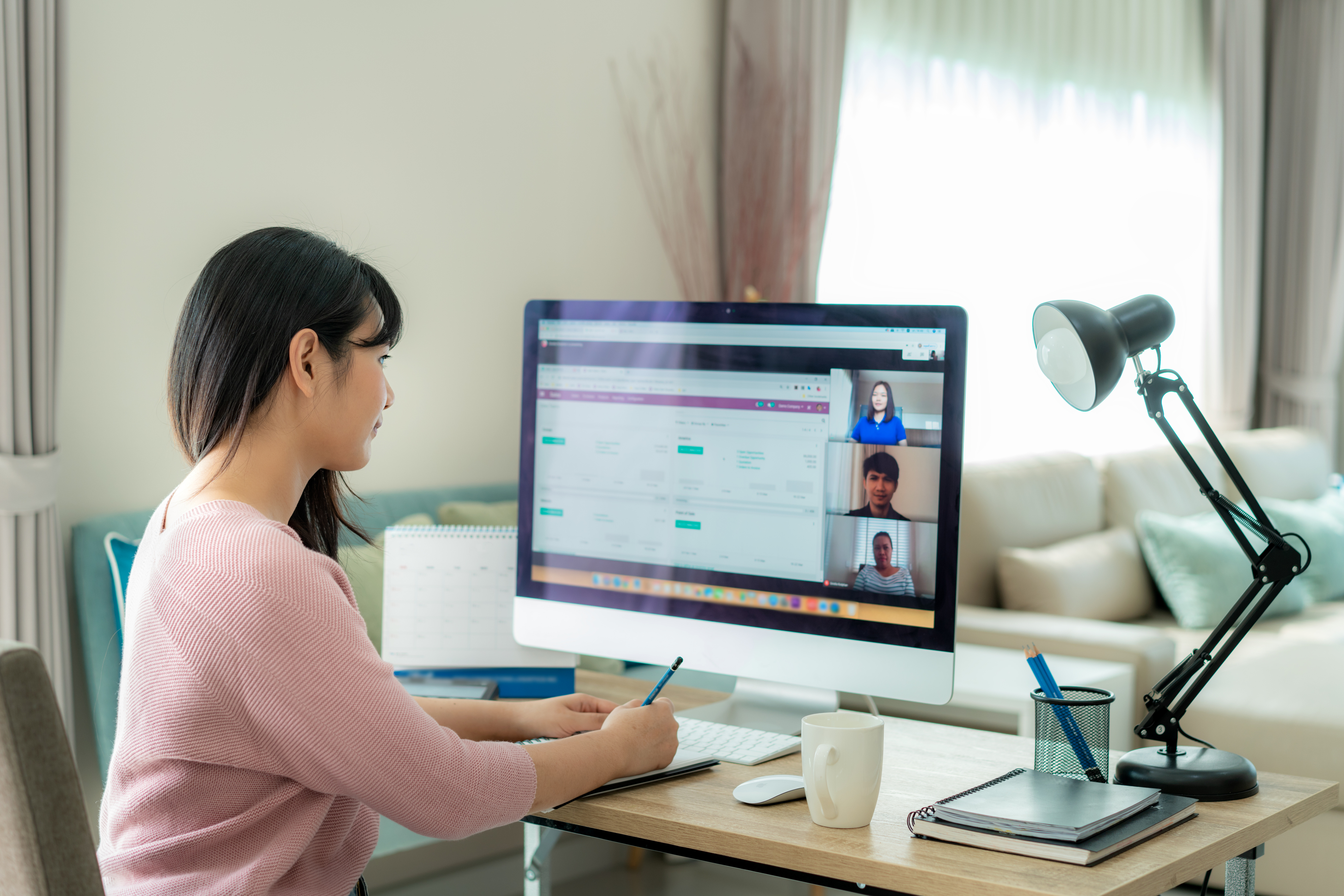 PM Working Remotely